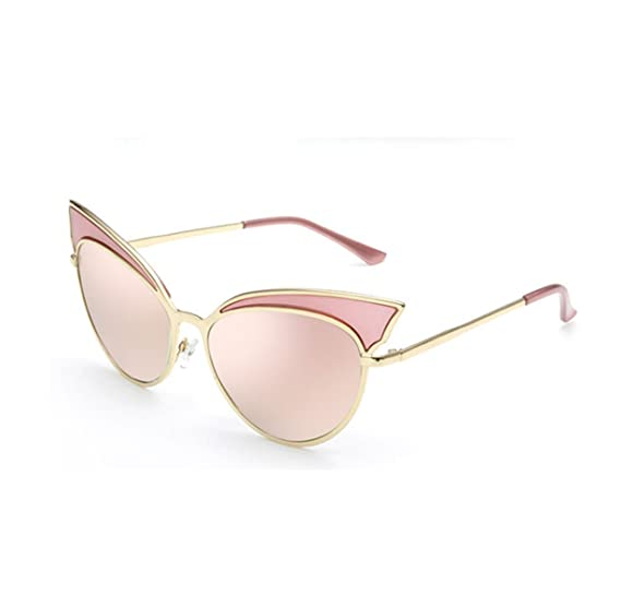 HAOYUXIANG Outdoor Mode Metall Farbe Film Sonnenbrille,C8