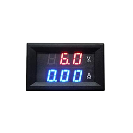 LiPing DC 0-100V 10A Digital Voltmeter Ammeter Dual Display Voltage Detector Current Meter Panel Amp Volt Gauge 0.28