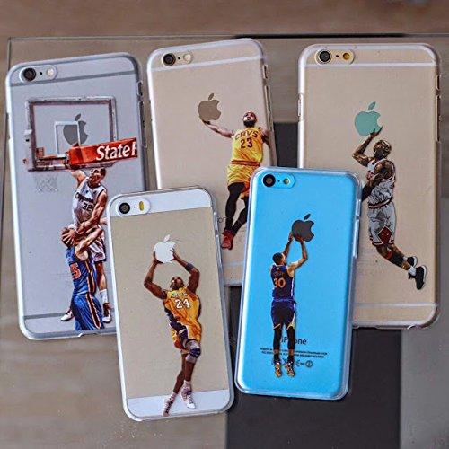 timeless design f2dcd 431de Lebron James transparent dunk for iPhone 6 6s Plus case number 23 ...