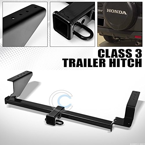 class 3 black finished trailer hitch receiver