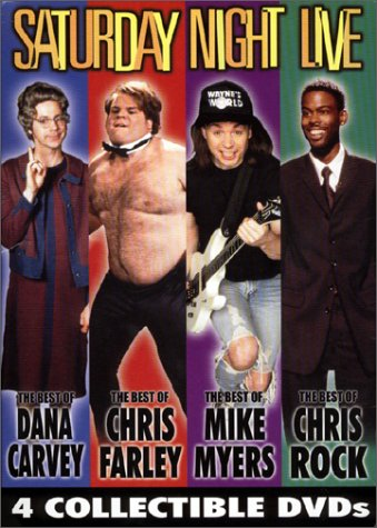 Saturday Night Live 4-Pack (The Best of Dana Carvey/Mike Myers/Chris Rock/Chris Farley) (The Best Of Chris Rock)