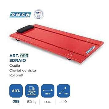 OMCN - TrAdE shop Traesio Tumbona Carro sottomacchina Menos máquina Coche para mecánico Taller omcn099: Amazon.es: Hogar