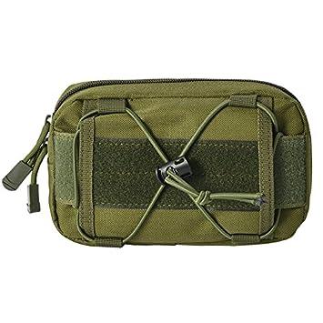 Extensi/ón al aire libre de la bolsa del bolsillo cintura Bolsa Moresave EDC Bolsa de nylon