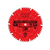 Freud 10 In. 50 Tooth Thin Kerf Combination Saw Blade with 5/8 In. Arbor(LU83R010)