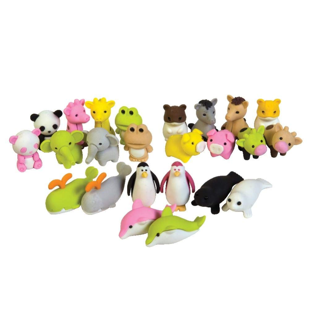 Raymond Geddes Jungle Sea & Farm Life Collectible Erasers, 288 Pack (68510) by Raymond Geddes (Image #2)