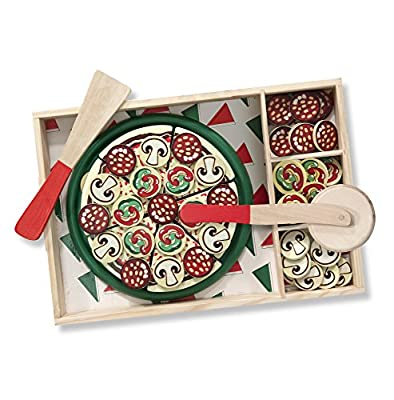Melissa & Doug Pizza Party Wooden Play Food Set from Melissa & Doug