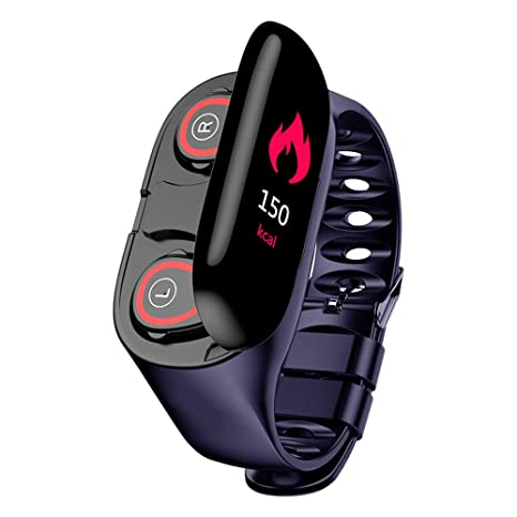 Amazon.com: DESTINLEE 2-in-1 Bluetooth Headset Smartwatch ...