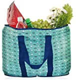 BlueAvocado XO Shopper, Green Nautical