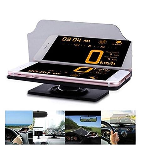 FidgetFidget - Soporte Universal para GPS de Coche, con Soporte para navegación, Reflector de Imagen ES: Amazon.es: Electrónica