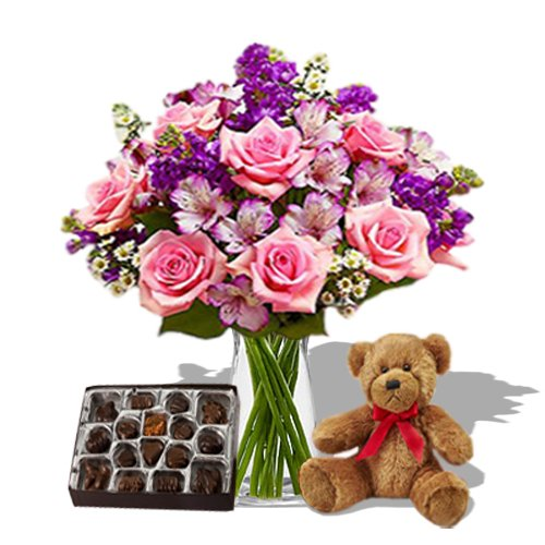 lavender Combi wishes by Send Gifts
