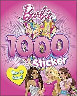 Barbie 1000 Sticker Amazon De Mattel Bücher