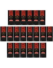 Bosmino 20 Box Black Coffee Nior Colombia's Arabica w Ganoderma Lucidum Extract (1 Box: 30 Sachets)