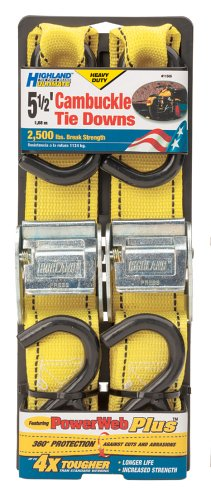 Highland 1150600 Ultimate Cambuckle Tie Down