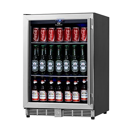 KingsBottle Beverage Cooler Stainless Steel