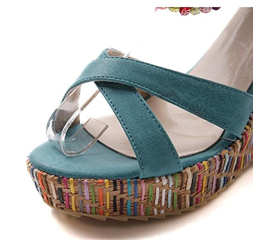 Sandales Lazutom Sandales Lazutom Sandales femme pour pour Bleu Bleu femme Lazutom pour wngqA0Ipq