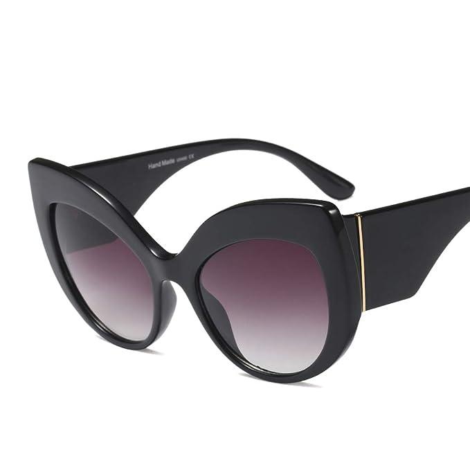 Amazon.com: Gafas de sol para mujer de gran tamaño, ojos de ...