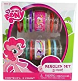 My Little Pony 15 Count Bangles Set