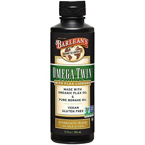 Barlean's Lignan Omega Twin Oil, 12-oz For Sale