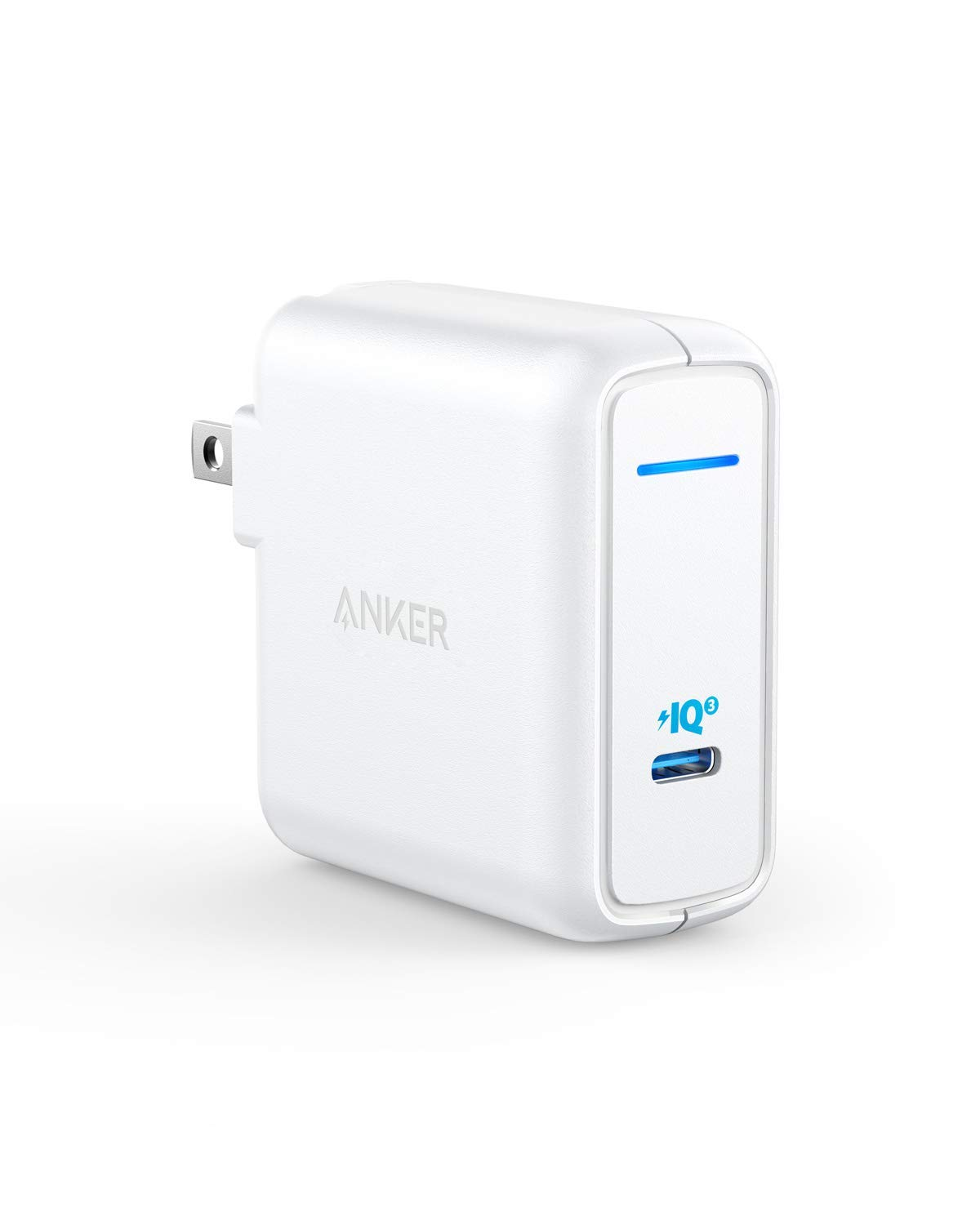 Anker 60W [PowerIQ 3.0 & GaN] Power Delivery USB C Charger, PowerPort Atom III 60W Ultra Compact Type C Charger for USB-C Laptops, MacBook Pro/Air, iPad Pro, iPhone XR/XS/Max/8, Galaxy, Pixel by Anker