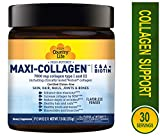 Best Collagen Powders - High Potency MAXI-SKIN Collagen Country Life 7.5 oz Review