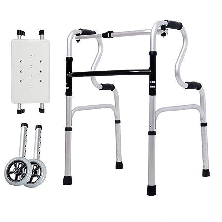 Andador para Ancianos Walker, Andador plegable Aluminio ...