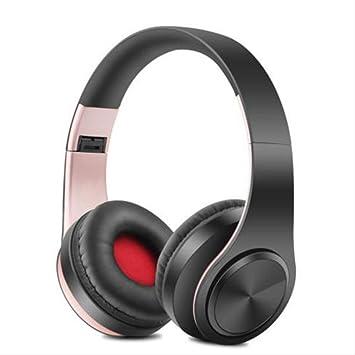 QSJWLKJ Auriculares inalámbricos Bluetooth Auriculares ...