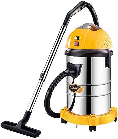 TY-Vacuum Cleaner MMM@ Aspiradora Seca y Húmeda Soplando Tres con 1400 W de Alta Potencia Industrial Barril Grande Aspiradora Hotel de Hotel Comercial Lavado de Autos Taller de Fábrica 35 litros: Amazon.es: