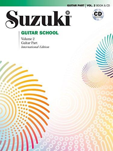 Suzuki Guitar School, Vol 2: Guitar Part (Book & CD) (Compact Vol 2 Disc)