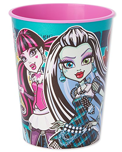 American Greetings Monster High Plastic Party Cup, 16 -