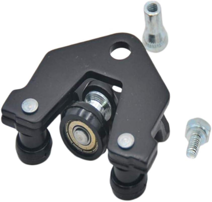 KESOTO - Kit de unidad izquierda del conjunto de rodillo de puerta corredera, color negro, apto para Renault Trafic: Amazon.es: Electrónica
