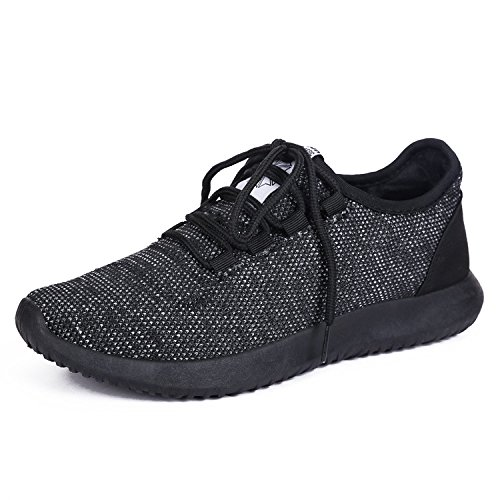 Women fashion breathable woven sneakers sport and casual shoes - 6