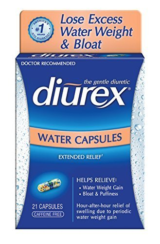 Diurex Water Capsules, 21 Count Capsules (Pack of 3) by Diurex