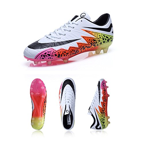 V-Do Men Soccer Shoes Cleats Unisex Football Shoes Low-Top Trainer Shoes...