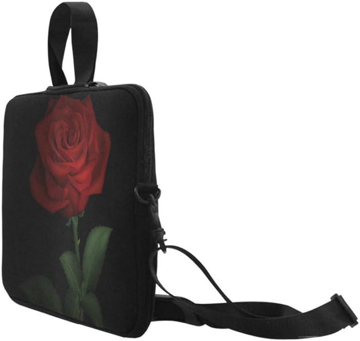 Rose-Flower-red Laptop Case 13//15 Briefcase Handbag Carrying Sleeve Case Cover