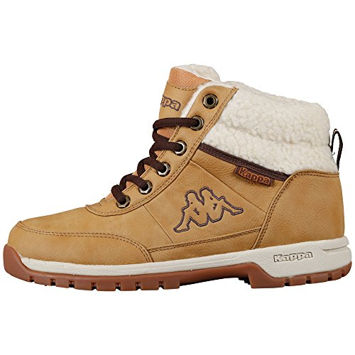 Kappa BRIGHT MID FUR T Footwear Teens Synthetic Unisex-Kinder Hohe Sneakers Beige (4143 beige/offwhite)