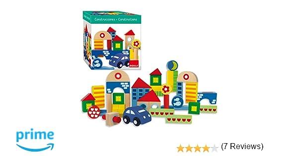 Goula - Arquitecturas pack de 41 piezas, bloques de construcción (Diset 50203): Amazon.es: Juguetes y juegos