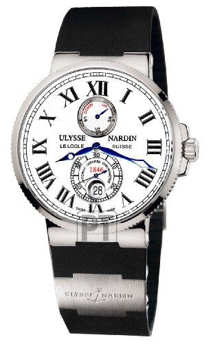 Ulysse Nardin Maxi Marine Chronometer White Dial Mens Watch 263-67-3-40 (Maxi Nardin Ulysse)
