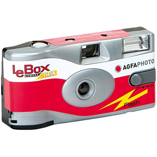 Agfa Photo LeBox 400 Disposable Camera with Flash, 27 Exposures
