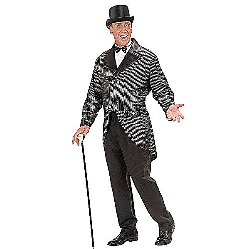 [Glitter Tailcoat Mens Costume Medium For Hardy Hollywood Film Fancy Dress] (Hollywood Film Fancy Dress Costumes)