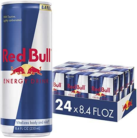 Red Bull Energy Drink, 8.4 oz Cans , (Pack of 24)