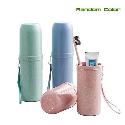Cepillo de dientes pasta de dientes caso botella Holder contenedor para viajes al aire libre con
