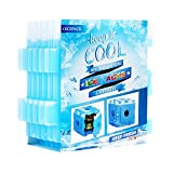 OICEPACK Ice Packs For Lunch Box (set of 6) Blue,Coolers Reusable Ice Pack,Freezer Ice Packs For Coolers,Small Ice Pack Long Lasting,Stay Cool Camping Cooler Ice Pack