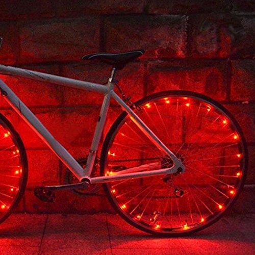 Bike LED Wheel String Light, Inkach 20 LED Bike Bicycle Cycling Rim ...