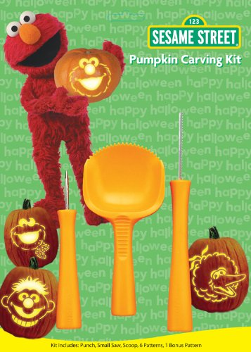 Paper Magic Group Pumpkin Carving Kit, Sesame Street (Paper Magic Group Costumes)