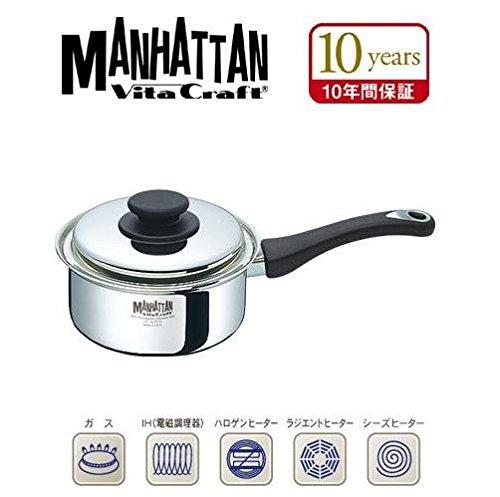 VitaCraft MANHATTAN(ビタクラフト マンハッタン) 片手ナベ 1.9L 5772 B018V27GB4