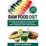 Raw Food Diet: Delicious Raw Food Diet Tips & Recipes to Revolutionize Your Health and (if desired) Start Losing Weight (Alkaline, Raw, Plant-Based Book 1)