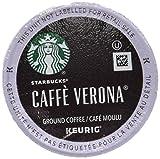 Starbucks Cafe Verona Coffee K-Cups Pack, 24/Box, 4 Box/Carton