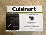 Cuisinart CPT-122 2-Slice Compact Plastic Toaster