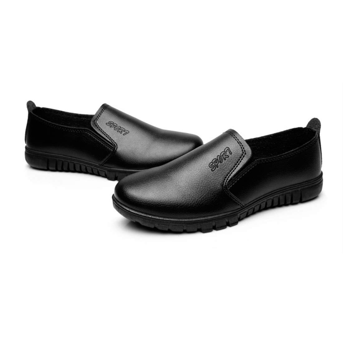 Zapatos para Hosteler/ía Antideslizante Zapatos de Uniforme de Cocina Zapatos de Cordones para Hombre Xianheng Calzado de Trabajo para Chef Resistente al Aceite y al Agua