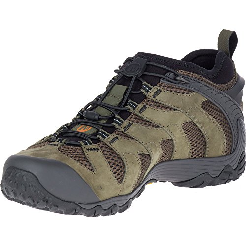 Merrell Mens Chameleon 7 Stretch Collar Breathable Mesh Hiking Shoes Dusty Olive LYKUx2W